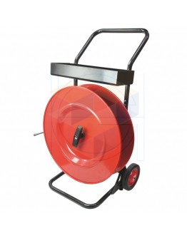 Mobil Strapping cart for PP- en PET-strapping core 406