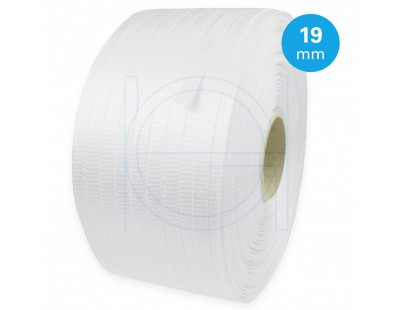 Polyester strap woven 19mm-500m Strapping