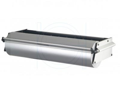 ZAC, wall dispenser, roll width 40 cm, serrated tear bar ZAC series Hüdig + Rocholz