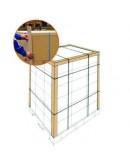 Cardboard corner profiles  ECO 45mm x 100 cm - 100pcs Protection corners