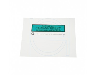 Packing list envelop BIO C6 162x120mm, 1000x Labels
