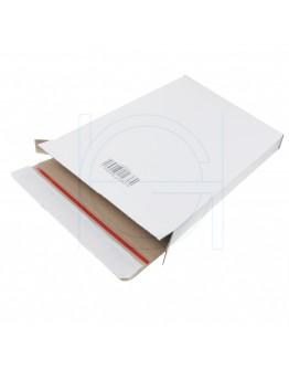 """White postal boxes """"E-com Mailbox-2"""" A4+, 250x350x28mm"""