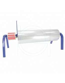 Roll dispenser for Poly Tube film 40-100cm blue