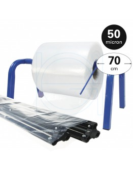 Tube film roll 50µ, 70cm x 390m