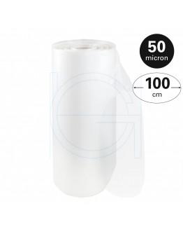 Tube film roll 50µ, 100cm x 270m