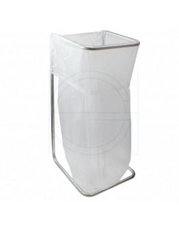 Wast bag 400L transparent MDPE - 50 pcs  per carton