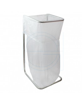 Waste bag holder metal galvanised