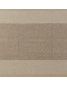 Papertape Gummed 60/200, 60grs bruin