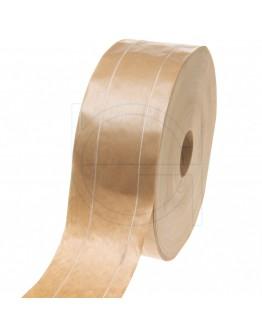 Papertape Gummed 60/200, 60grs brown reinforced