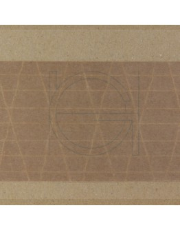 Papertape Gummed 70/150, brown, Cross-reinforced