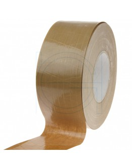 Papertape Gummed 70/150, brown, Cross-reinforced