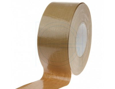 Papertape Gummed 70/150, brown, Cross-reinforced Tape