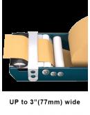 Gummed paper tape dispenser  Dispensers for tape