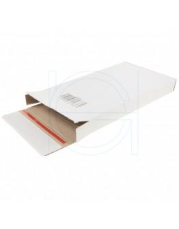 """White postal boxes """"E-com Mailbox-3"""" 125x28x160mm"""