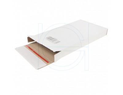 "White postal boxes ""E-com Mailbox-3"" 125x28x160mm Shipping cartons"