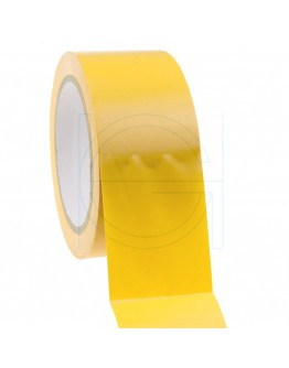Construction Tape PVC Yellow 50mm/33m