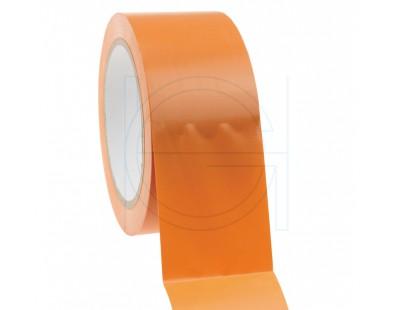 Construction Tape PVC orange  50mm/33m Tape