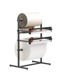 Roll dispensers for 2 rolls